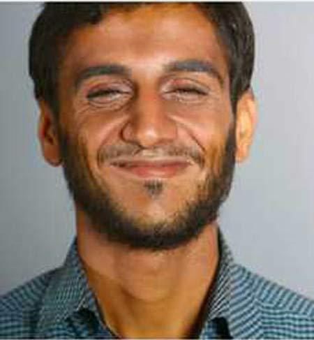 گریم دیدنی محمود احمدی نژاد در حضور رضا عطاران + عکس
