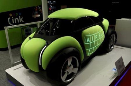 خودرویی که نیاز به صافکاری و نقاشی ندارد (عکس)