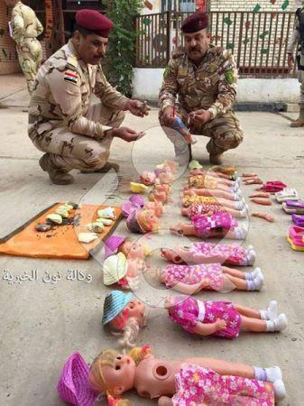 حمله هولناک عروسک ها به زائران اربعین حسینی + عکس