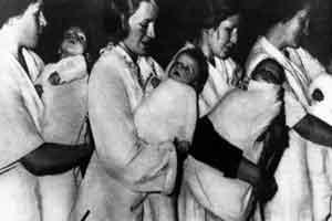 زنان جذابی که برای هیتلر باردار شدند! + عکس