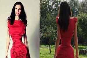 اندام متحیر کننده دختر مانکن و مدلینگ + عکس