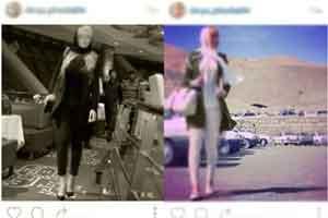 گردش دختران مدل اینستاگرام در تهران + عکس