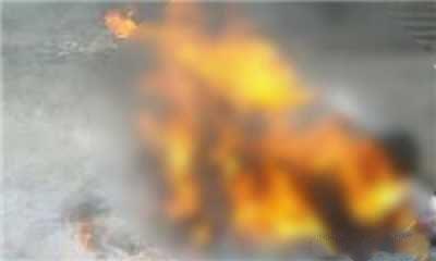 پسر یاغی پدرش را جلوی خانواده زنده زنده سوزاند (عکس)
