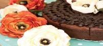 طرز تهیه کیک شکلاتی با روکش گاناش