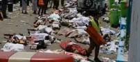 قبور قربانیان ایرانی فاجعه منا در مکه (عکس)