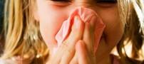 درمان ساده آبریزش بینی