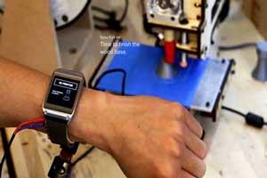 ساعت هوشمندی که اشیا را شناسایی می کند (عکس)