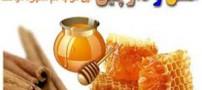 بیست معجزه عسل و دارچین