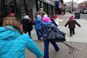 اقدام جالب کودکان کانادایی در واکنش به خبری در ایران ! + عکس