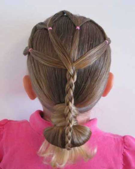زیباترین مدل موهای جدید مخصوص دختران کم سن و سال