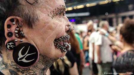 تصاویر عجیب و غریب از مردان غیر عادی (عکس)