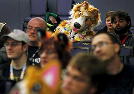 فستیوال جالب گردهمایی طرفداران شخصیتهای کارتونی (تصاویر)