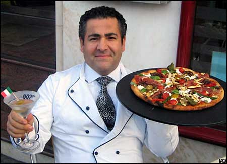 گرانترین پیتزای خوشمزه دنیا با قیمت 3000 دلار (عکس)