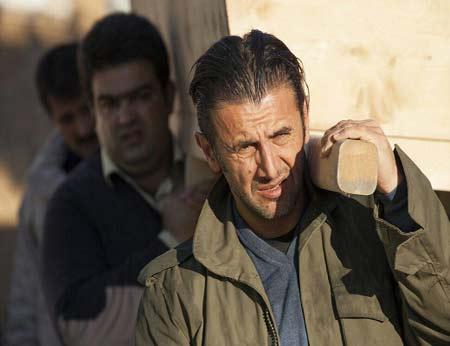 خبرهایی از آسیب دیدگی صورت امین حیایی در لاهیجان (عکس)
