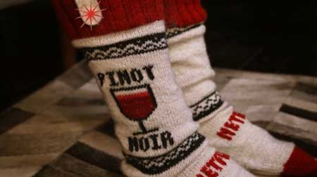 جوراب هوشمند با توانایی پخش و متوقف کردن ویدئو (عکس)