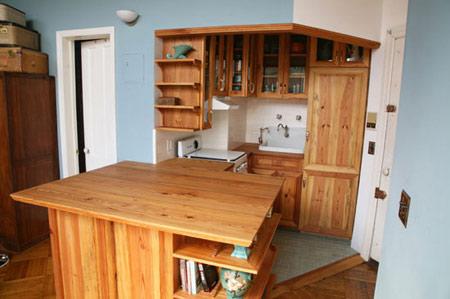یک دکوراسیون شیک برای آشپزخانه های کم فضا