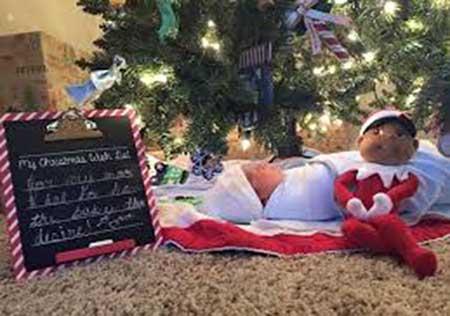 قشنگ ترین و عجیبترین کادو کریسمس جهان (عکس)