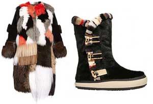 شیک ترین ست های کت و چکمه زمستانی در مجله Elle