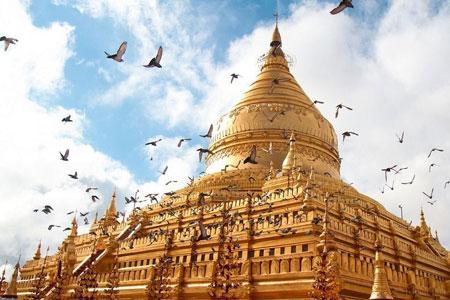 شهری با 1000 معبد در میانمار به نام باگان (تصاویر)