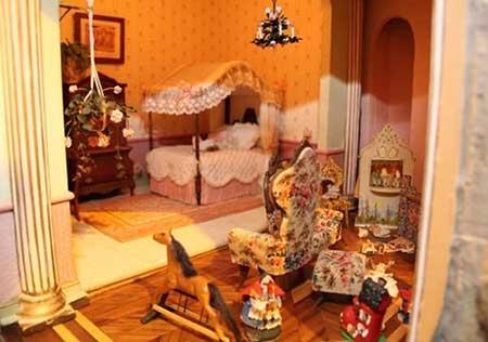 گران قیمت ترین خانه ی عروسکی دنیا (عکس)