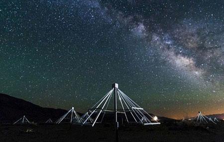ساخت تلسکوپی برای رصد کردن موجودات فضایی (عکس)