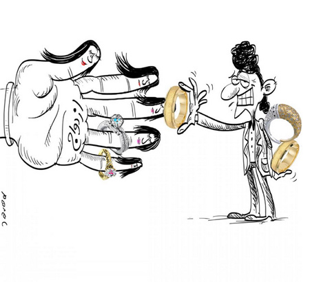 سری جدید کاریکاتورهای زیبای ترکیبی با اشیاء