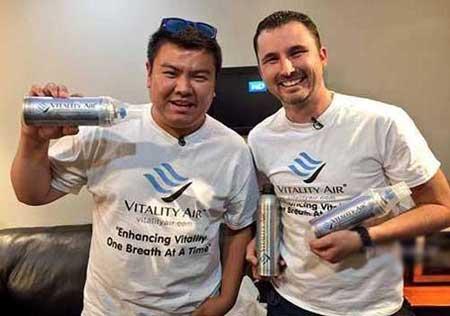 فروش 20 دلاری هوای تازه کانادا در بطری به چین (عکس)