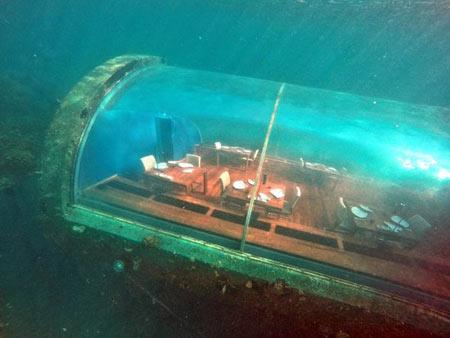 رستورانی در زیر آب به نام ایتها در مالدیو (عکس)
