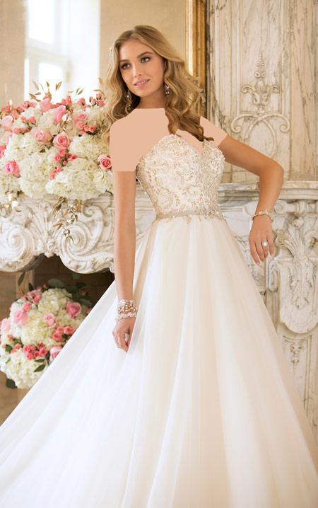 ژورنال زیباترین لباس های عروس شیک 2016