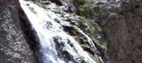 معرفی آبشار گردشگری نورالی در رشته کوه هزار مسجد (تصاویر)