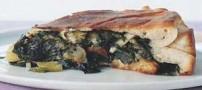 آموزش درست کردن پیتزا شکم پر با پنیر فونتینا