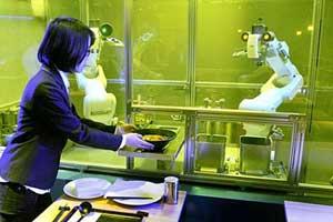 ربات های جالبی که در 1 دقیقه و نیم سوپ می پزند (عکس)