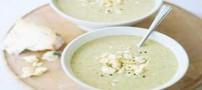آموزش درست کردن سوپ گل کلم و شاه بلوط