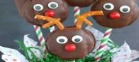 آموزش درست کردن شیرینی کریسمس به شکل گوزن