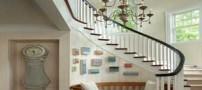 طراحی پله های گرد چشم گیر در دکوراسیون منزل (عکس)