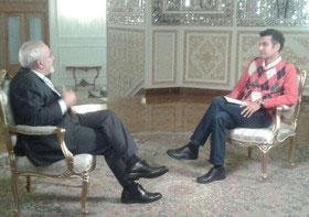 صداوسیما مصاحبه فردوسی پور با وزیر امور خارجه را پخش نکرد