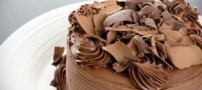 تزیین کیک ها با ورقه های شکلات رولی + طرز تهیه