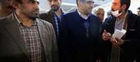 وزیر بهداشت بدون ماسک به عیادت مبتلایان به آنفولانزا رفت