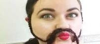 عکس های جالب و دیدنی دختران با ریش های بافته شده