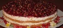طرز تهیه کیک مجلسی و خوش طعم انار برای شب یلدا