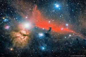 تصویر سحابی شگفت انگیز از ناسا به شگل سر اسب