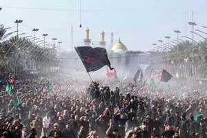 عکس دیدنی از رکورد زنی زائران حرم امام حسین در اربعین