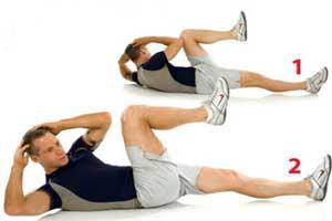 نکاتی برای درست تمرین دادن عضلات شکم