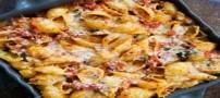 آموزش تهیه پاستای تن ماهی و سس گوجه فرنگی