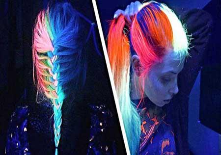 مدل موهای جدید دخترانه که در شب می درخشند (عکس)