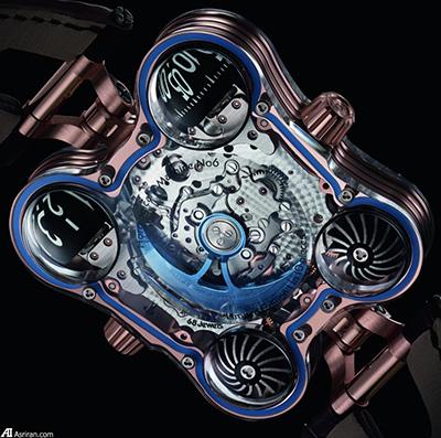ساعت لوکس و خاص 400 هزار دلاری HM6 SV (+تصاویر)