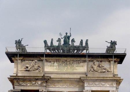 معرفی و آشنایی با طاق صلح در میلان ایتالیا (+تصاویر)