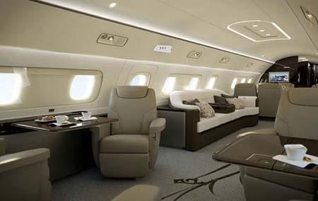 هواپیماهایی شبیه به هتل 5 ستاره (+تصاویر)