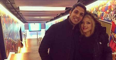 عکس های دیدنی سپهر حيدری و همسرش در اسپانیا