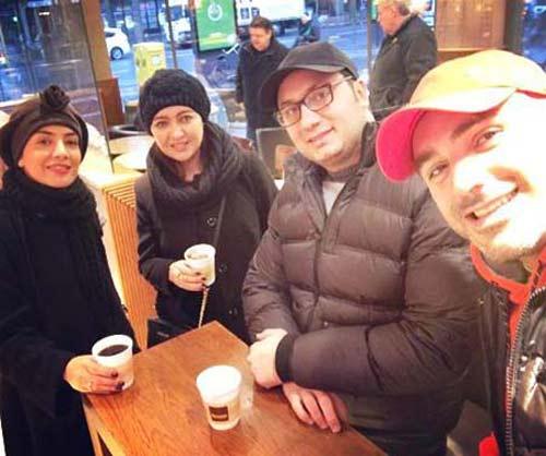عکس های دیدنی از تیپ نیکی کریمی در آلمان